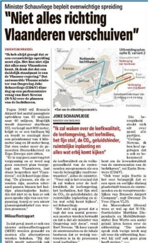 nieuwsblad luchthaven