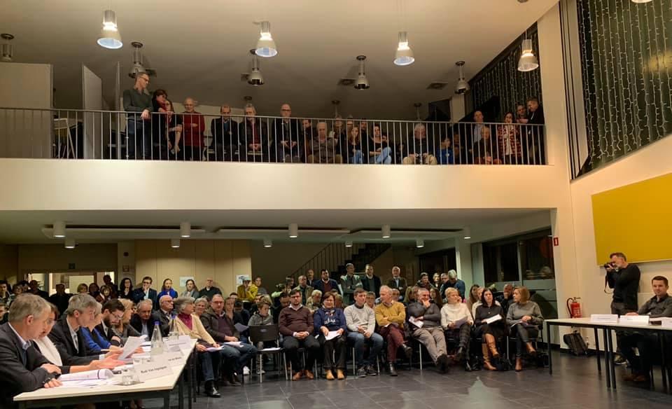Installatievergadering 3 januari 2019.publiek
