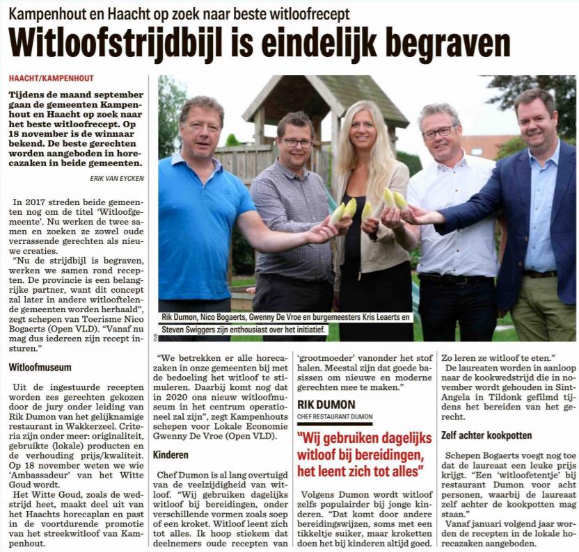 witloofwedstrijd Nieuwsblad